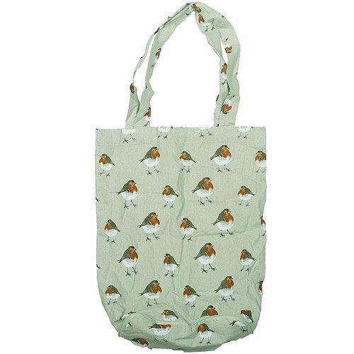 《CreativeTops》Wild摺疊購物袋(知更鳥)