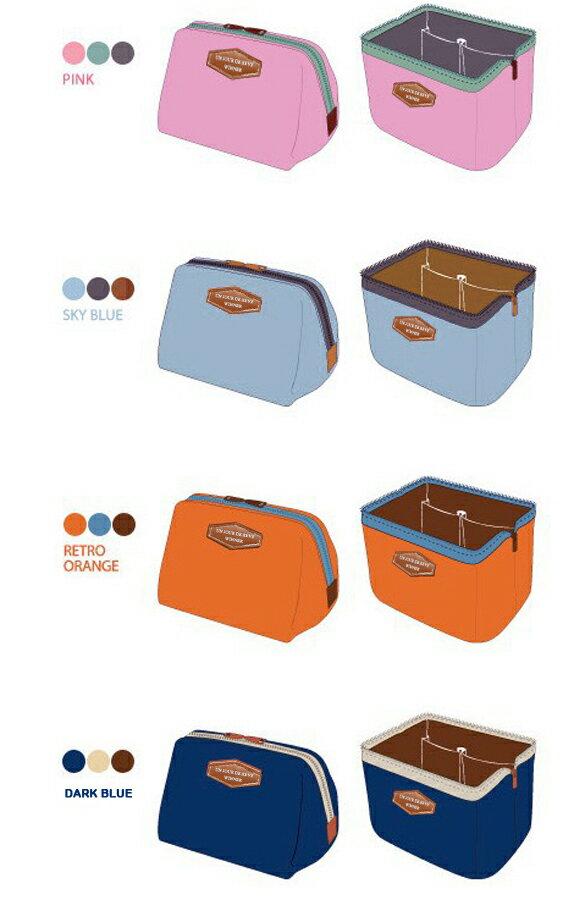 Lady Travel Makeup bag Cosmetic pouch Clutch Handbag 2