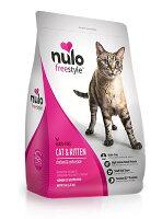 NULO 紐樂芙 無穀 高肉量 全齡貓  放牧雞肉+海帶 5磅-CD豆幫-居家生活推薦
