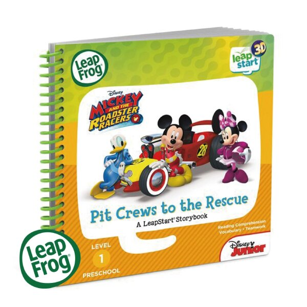 美國 LeapFrog 跳跳蛙 LeapStart 幼兒11-米奇妙妙車隊3D 全英行動學習書籍 2