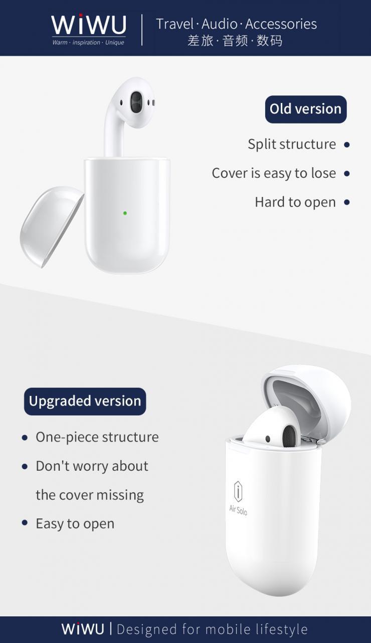 wi wu AirSolo 無線藍牙 單耳耳機 觸控式 公司貨