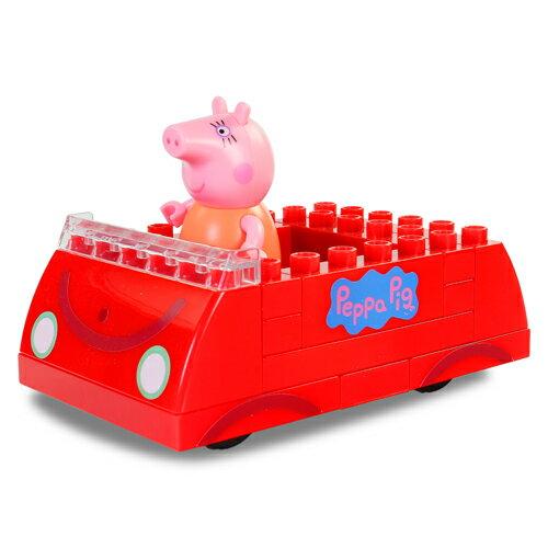 粉紅豬小妹積木系列-粉紅豬的車/ Peppa Construciton - Family Car with Mummy/ 佩佩豬/ peppa pig/ 伯寶行