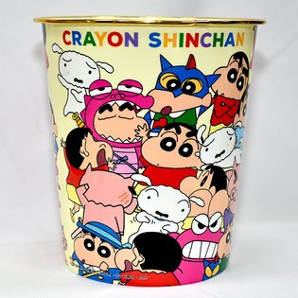 蠟筆小新置物桶垃圾桶日本帶回正版品