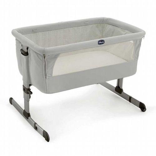 ★衛立兒生活館★Chicco Next2Me多功能移動舒適嬰兒床-雪銀白 贈蘇菲長頸鹿1隻