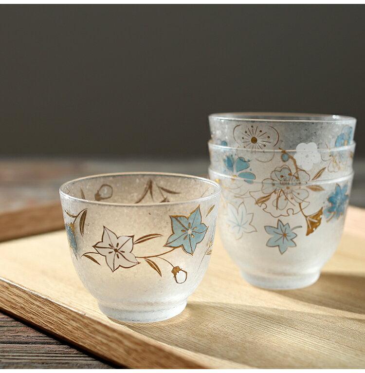 日本製 四季巡迴冷茶杯組