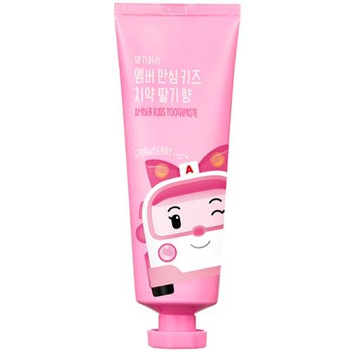 來易購:波力救援安寶小英雄兒童牙膏草莓口味(適用3歲以上)100g