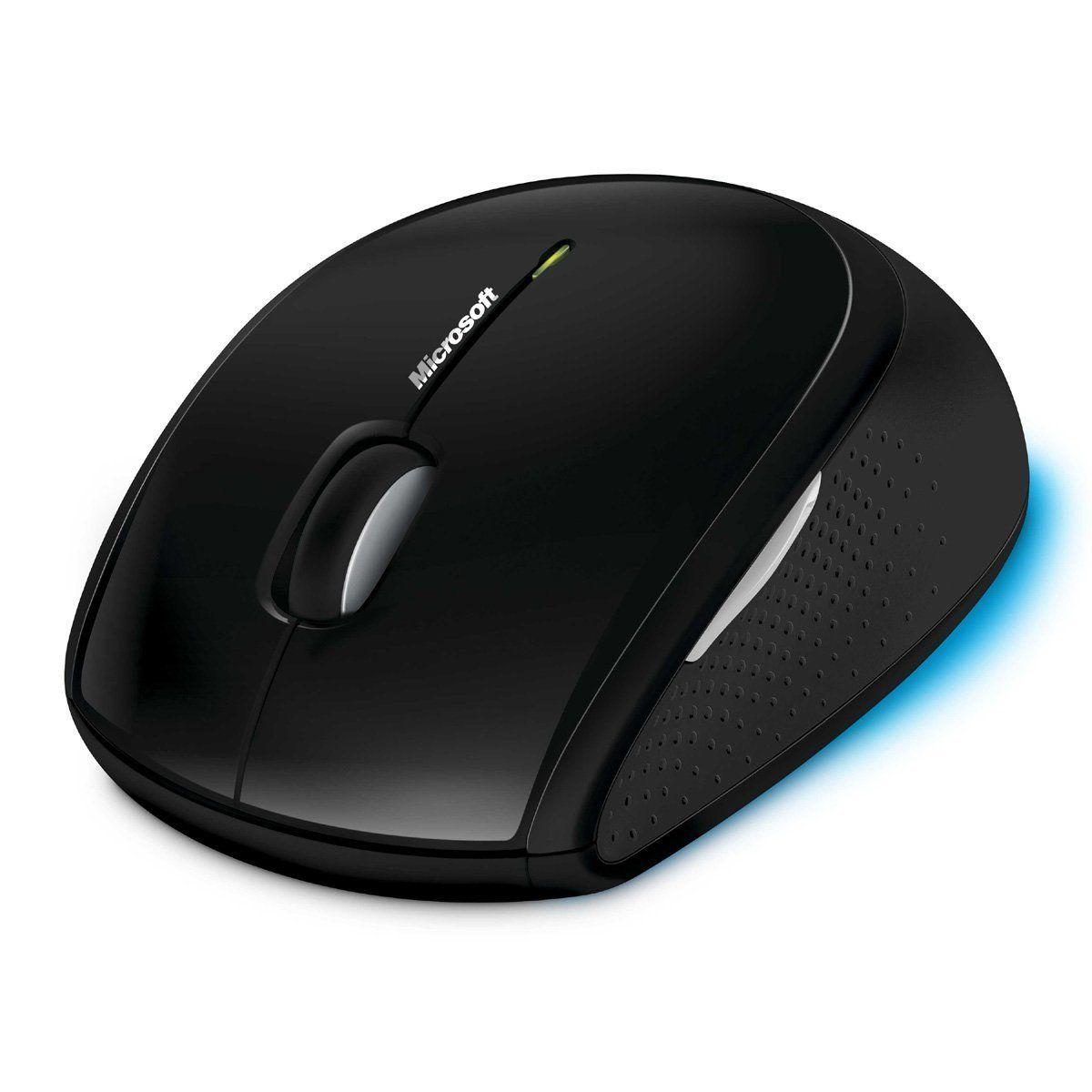 Microsoft Wireless Comfort Desktop 5000 Keyboard and Mouse - Black 1