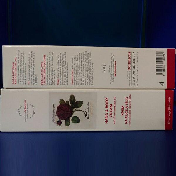 捷克 Botanicus 菠丹妮波丹尼 玫瑰護手霜100g品號45007