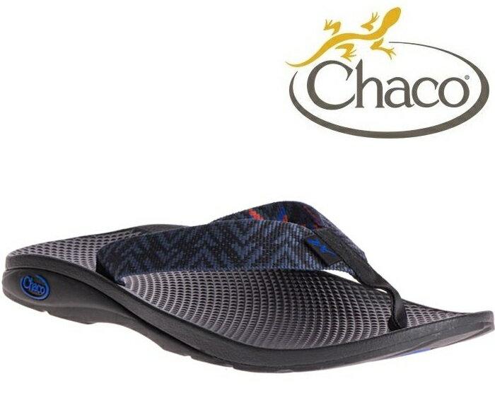 Chaco 夾腳拖鞋/海灘拖/戶外運動涼鞋-沙灘款 男 美國佳扣 CH-ETM01 HE25 顫動深藍