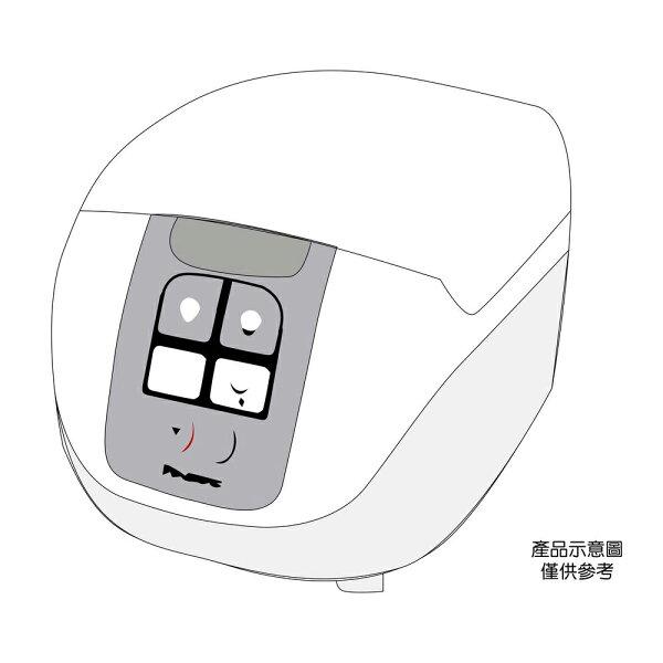 【Panasonic國際牌】10人份微電腦電子鍋SR-DF181