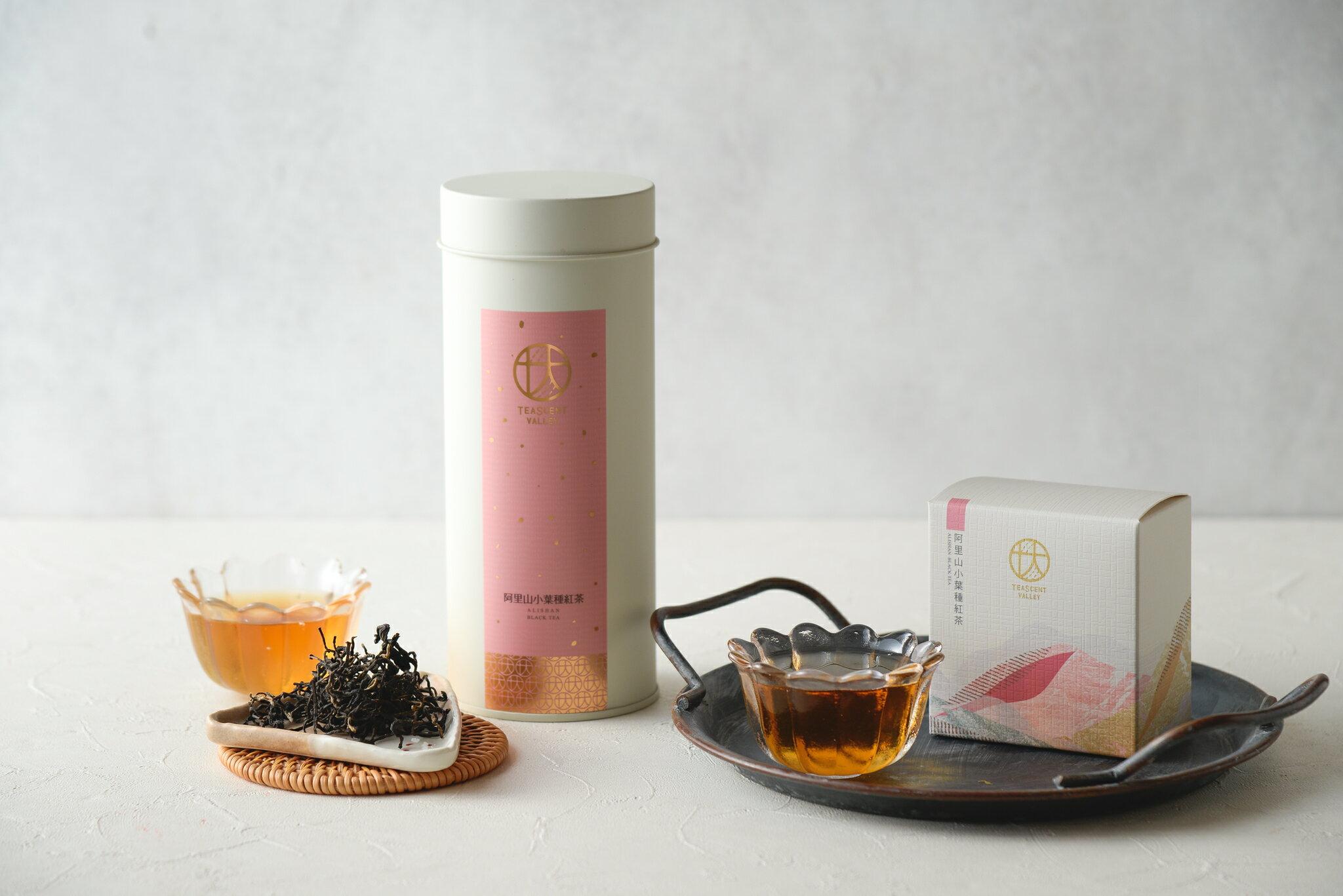 【林韻茶園】手採高山茶葉|阿里山小葉種紅茶 Alishan Black Tea  盒裝/罐裝