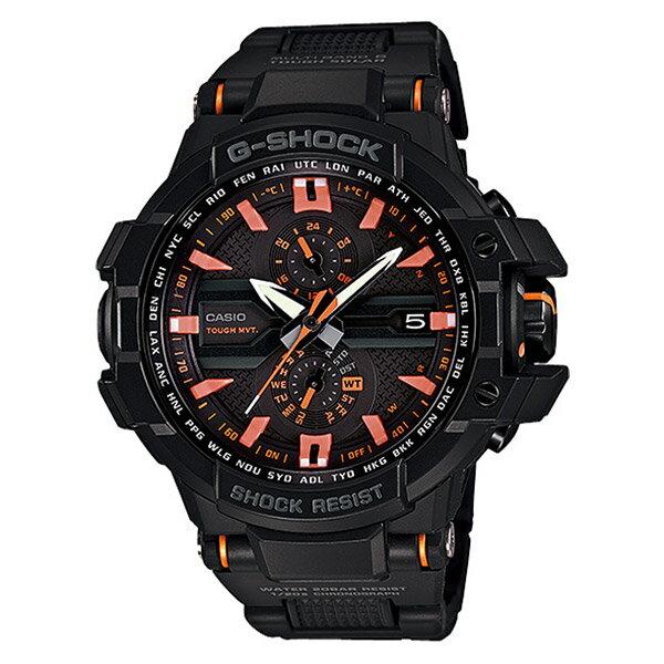 【EST O】G-Shock GA-1000FC 太陽能 飛行錶款 防水 手錶 黑 F0625
