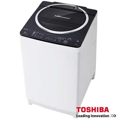 TOSHIBA東芝SDD 變頻12公斤洗衣機 魅力黑 AW-DE1200GG  雙噴射瀑布