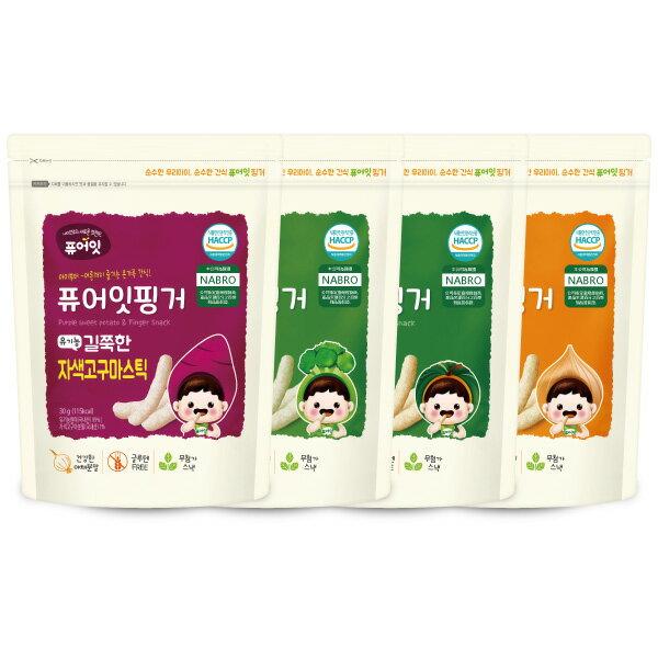 韓國 NAEBRO 條點心 / 餅乾 30g(4款可選)(6個月以上適用) (韓國進口)寶寶餅乾 / 米餅好窩生活節 0