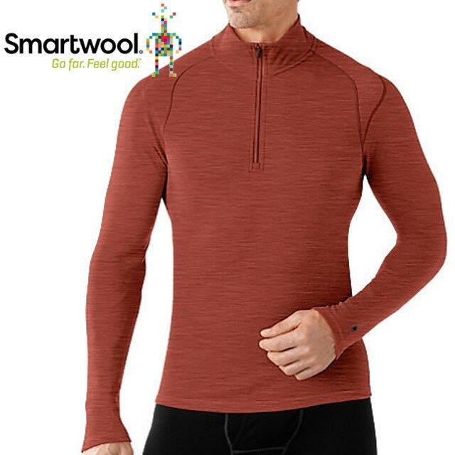 Smartwool/排汗衣/保暖/內搭衣/出國/旅遊/背包客/滑雪/聰明羊/美麗諾羊毛 高領毛衣 SS603 297 鐵鏽紅男款