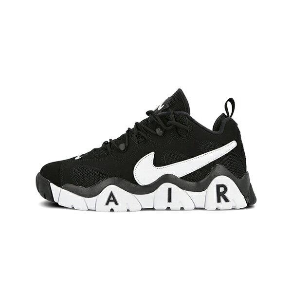 【NIKE】NIKE AIR BARRAGE LOW 運動鞋 籃球鞋 復古 大勾 黑 男女鞋 -CD7510001 0