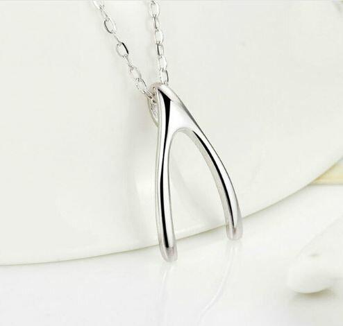 Tokyo Alice 925純銀許願骨項鍊,項鏈首飾飾品首飾銀飾甜美鎖骨鏈(s00000050)