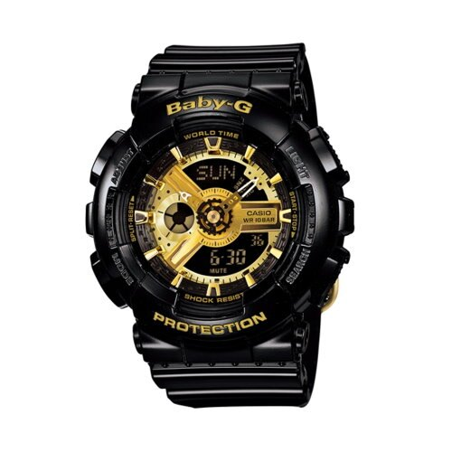 CASIO BABY-G/潮流尖端雙顯運動腕錶/BA-110-1ADR