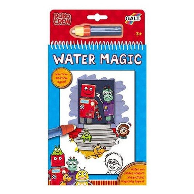 英國 GALT Water Magic 神奇水畫冊~機器人~~夏日 ~