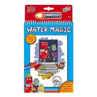 英國 GALT Water Magic 神奇水畫冊【機器人】*夏日微風*