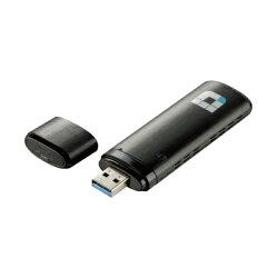 D-Link友訊 DWA-182 Wireless AC1200雙頻USB 無線網卡★★★全新原廠公司貨含稅附發票★★★