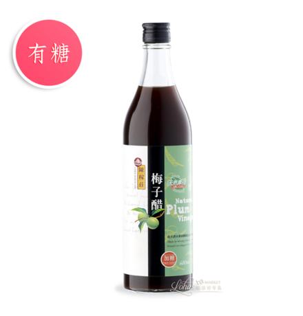 【陳稼莊】梅子醋(加糖) 600ml