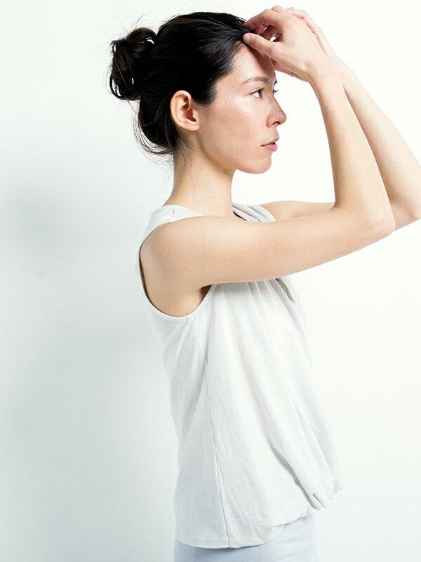 【Kyoto】100%有機棉胸前交叉背心 日本製 瑜珈服 1