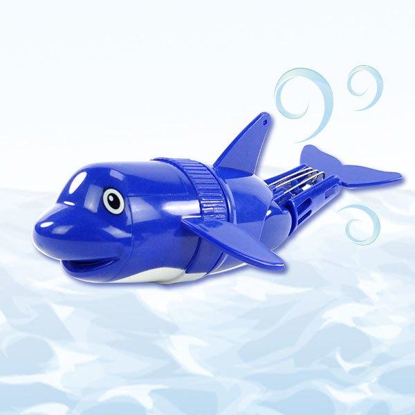 【888便利購】水中電動游泳鯊魚海豚(防水)(洗澡玩具)