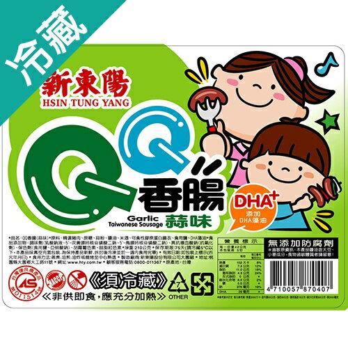 新東陽QQ蒜味香腸210g【愛買冷藏】
