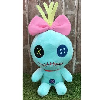 【真愛日本】17071400020 坐娃-30CM醜ㄚ頭 迪士尼 星際寶貝 史迪奇 娃娃 絨毛 抱枕 玩偶