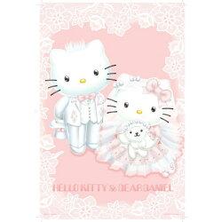 【P2 拼圖】Hello Kitty&Dear Daniel 夢幻婚禮 夜光拼圖 1000片 HP1000-007