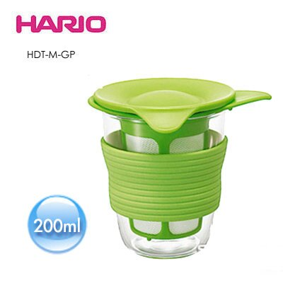 庫存商品折扣中-《HARIO》獨享耐熱冷泡杯/ 200ml / HDT-M-GP / 綠色