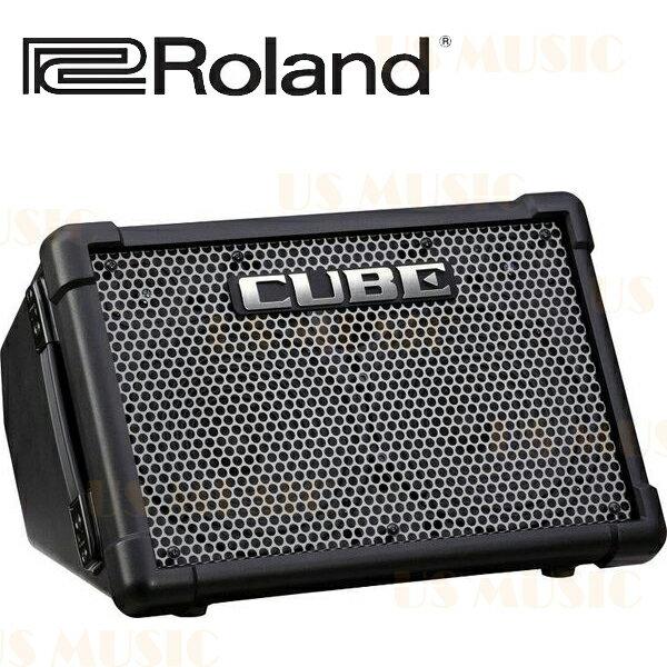 【非凡樂器】『Roland CUBE Street EX』電池供電立體聲高品質便攜音箱/適合街頭藝人的好工具