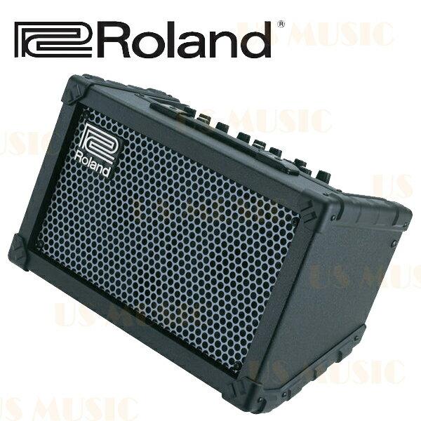 【非凡樂器】『Roland Cube Street』黑色 街頭藝人專用音箱 電吉他/木吉他/主唱/鍵盤 皆適用