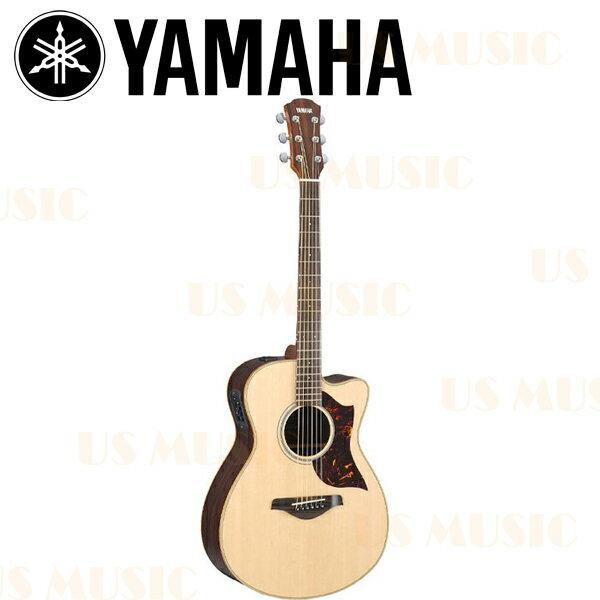 【非凡樂器】『YAMAHA 山葉木吉他AC1R』電民謠吉他 原木色/SRT拾音器/原廠全附件