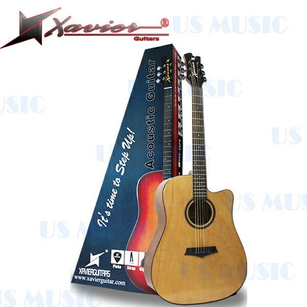 【非凡樂器】『賽維爾民謠吉他 XAVIER GDN-20系列標準D桶身』共五色可選【加送超值配件包】