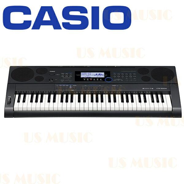 【非凡樂器】『CASIO CTK-6200 61鍵高階電子琴』原廠公司貨/CASIO原廠琴架/加送專用琴袋