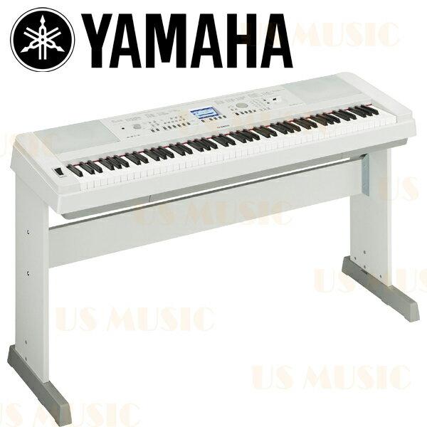 【非凡樂器】新品上市 Yamaha DGX-650(DGX650) 88鍵數位鋼琴/電鋼琴 時尚白色款