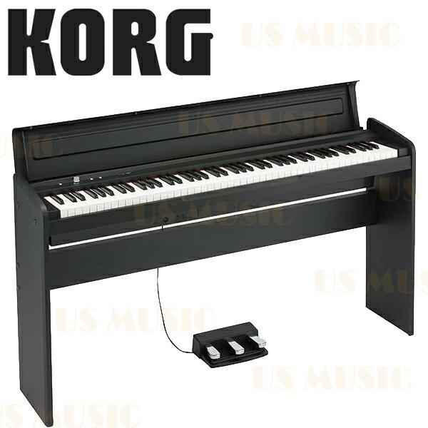 【非凡樂器】KORG 2014全新上市 LP-180『典雅黑』 88鍵電鋼琴/數位鋼琴(LP180)