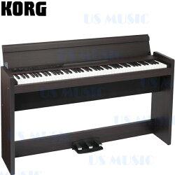 【非凡樂器】『胡桃木色KORG 數位鋼琴 電鋼琴 LP-380 LP380』日本原裝進口 原廠公司貨一年半保固