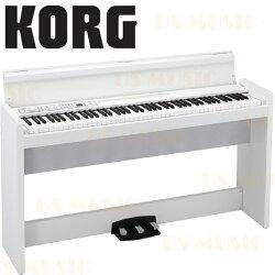 【非凡樂器】『經典白色KORG 數位鋼琴 電鋼琴 LP-380 LP380』日本原裝進口 原廠公司貨一年保固