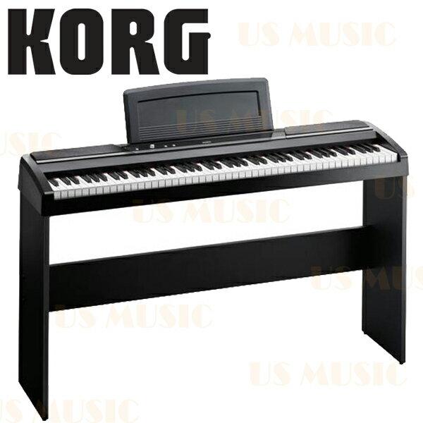 【非凡樂器】KORG 88鍵數位鋼琴+原廠琴架 SP-170S (公司貨一年保固) 黑色