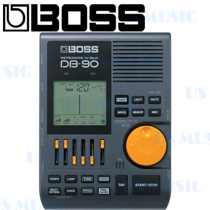 【非凡樂器】『BOSS DB90』Dr.beat 電子節拍器/多功能的專業電子節拍器/鼓手御用