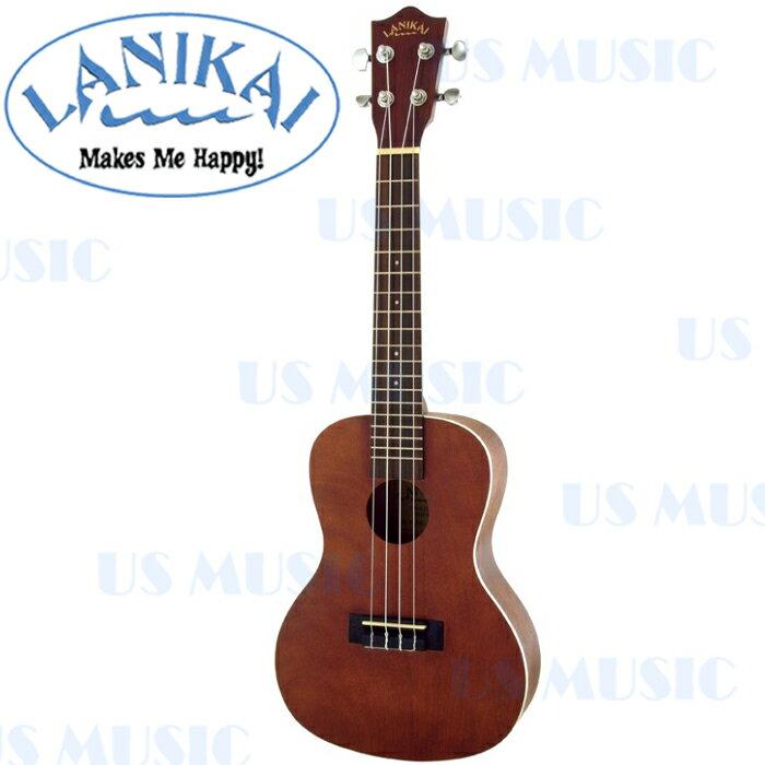 【非凡樂器】『德國品牌Lanikai LU-21C』23吋烏克麗麗/音色與手感兼具的Ukulele/加贈調音器