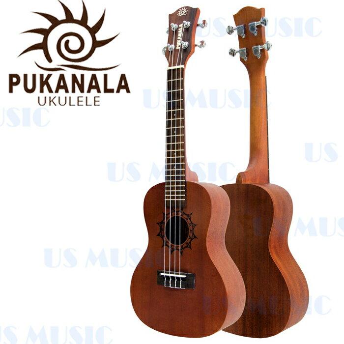 【非凡樂器】『Pukanala雕刻刺青系列PU-ATC』高品質23吋烏克麗麗/加贈調音器指法表