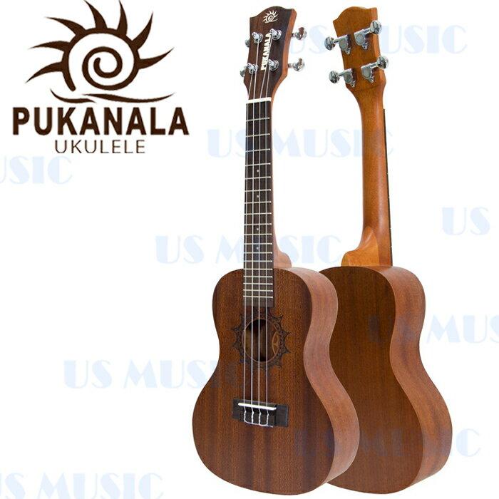 【非凡樂器】『Pukanala雕刻刺青系列PU-STC』高品質23吋烏克麗麗/加贈調音器指法表