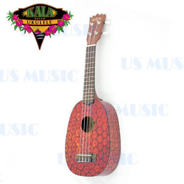 【非凡樂器】KALA 美國大牌水果系列『KA-PSS』鳳梨烏克麗麗/鋪棉厚袋/加贈調音器