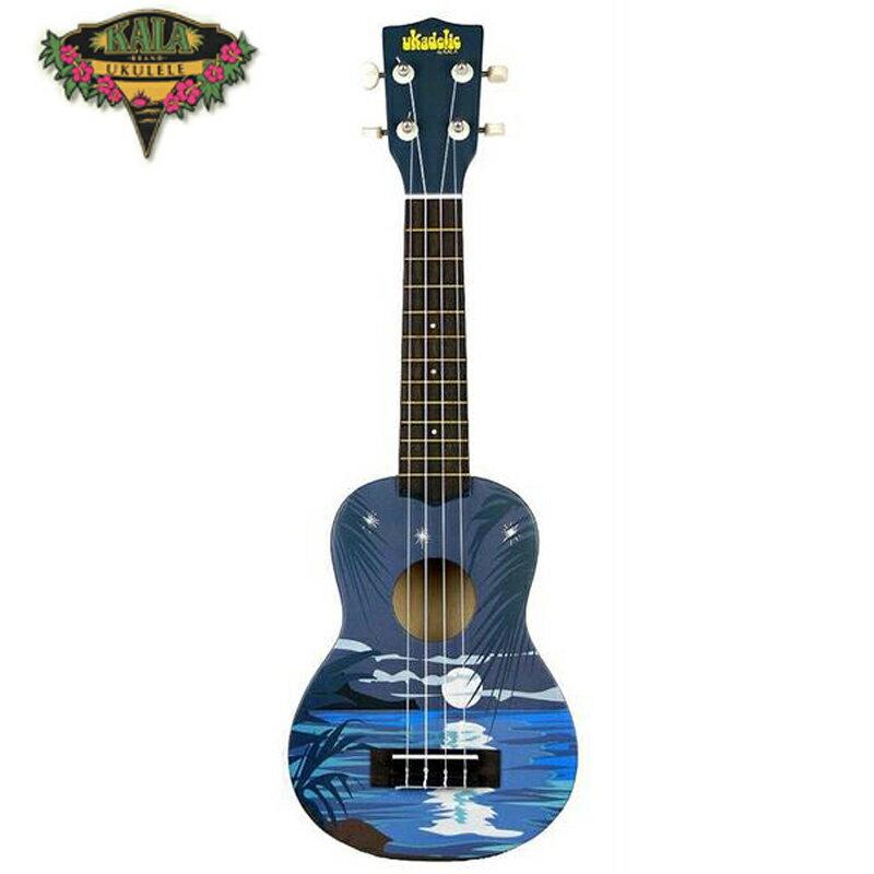 【非凡樂器】『加送調音器KALA KA-SNIGHT』 21吋 月夜 ukulele彩繪烏克麗麗 月夜
