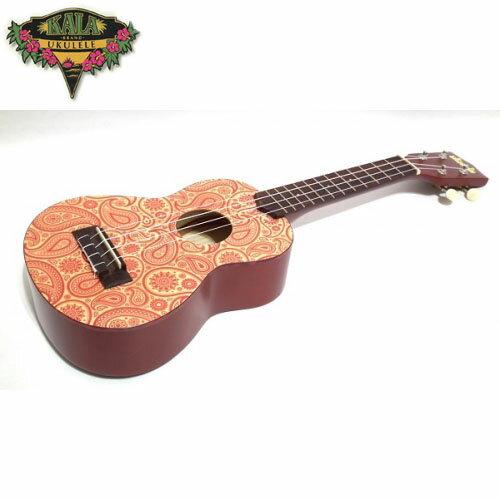 【非凡樂器】『加送調音器KALA KA-SSPPAISLEY』 21吋 變形蟲 ukulele彩繪烏克麗麗 變形蟲造型