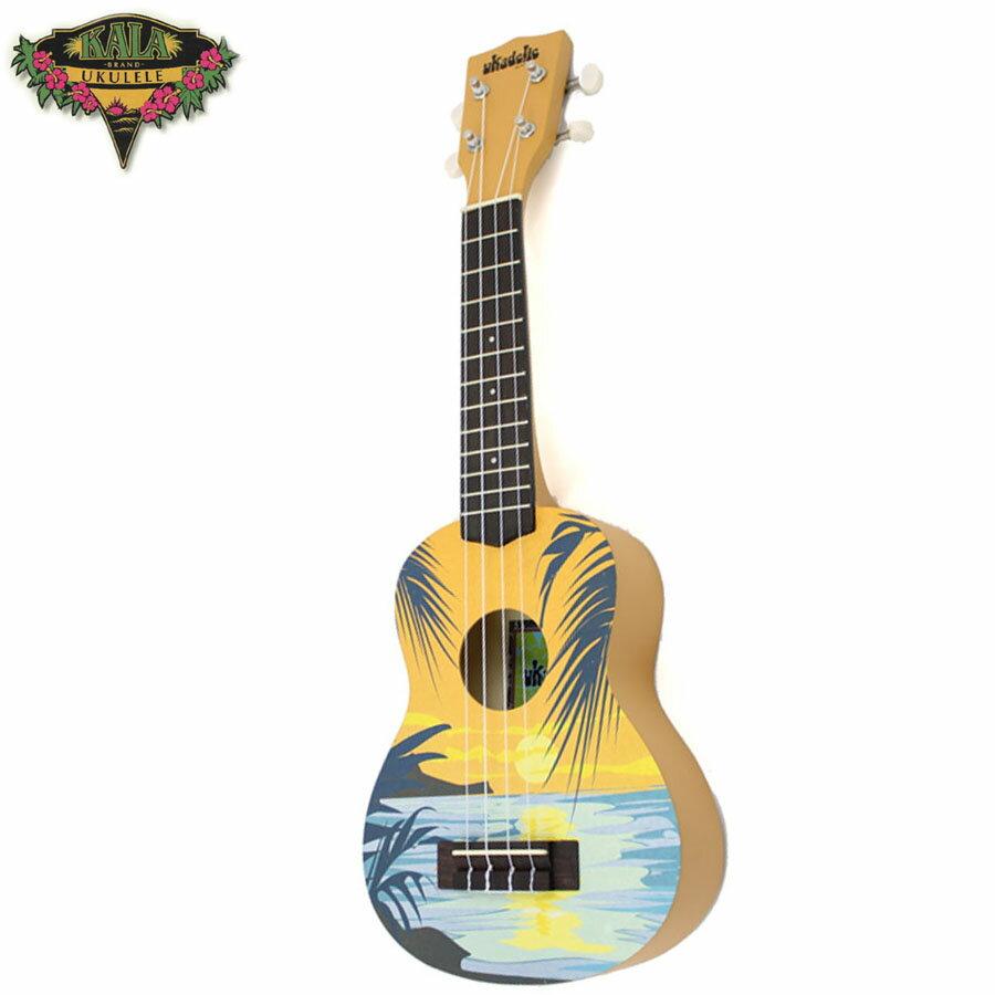 【非凡樂器】『加送調音器KALA KA-SDAY』 21吋 夏日海洋 ukulele彩繪烏克麗麗 夏日海洋造型